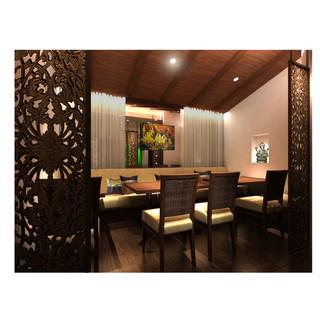落ち着いたオシャレな店内で本格タイ料理をお楽しみください