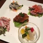 ジアス ルーク&タリー - 前菜5種盛合わせ