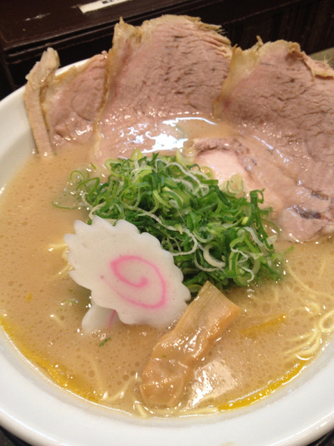 作ノ作 - ゆず塩とんこつ730円