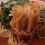 スパゲッティハウス パプリカ - 麺のリフトアップ写真