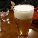 洋食や 三代目 たいめいけん - チョイの呑みセットのビール
