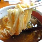 紀州らーめん おかげさん - 柔らかめの中太ストレート麺