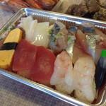 25520475 - 500円のお寿司。安くて美味しいー。