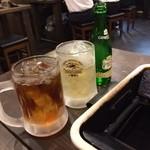 25520622 - 飲めない私達は烏龍茶とジンジャーエールで乾杯!