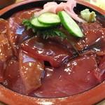 さの寿司 - ランチ鉄火丼・大盛 ¥940