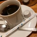 炭火焼スペインバルMon - ランチセットドリンク(ホットコーヒー)¥100