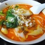 聚福楼 - 坦坦刀削麺
