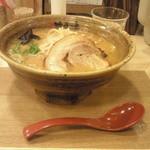 味噌乃家 - 味噌ラーメン あっさり ¥680 (2014.3.28)