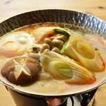 一匠 - チゲ鍋は、秘伝のスープに旨みがギュッと詰まったコクのある一品!