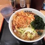 名代 箱根そば - 料理写真:かき揚げ天そば¥370