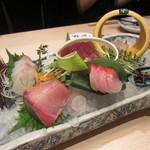 香家 - 特選鮮魚五品盛り合わせ