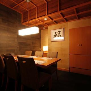 【完全個室】ご接待や特別な日に最適の空間をご提供致します。