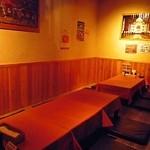 ガンジス - テーブル席