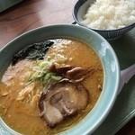 笹寿し - 今日の昼!味噌メーランvsライス(´Д` )