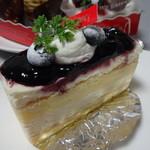 25537956 - ブルーベリーチーズケーキ