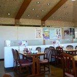 小矢部川サービスエリア 下り線 レストラン - 少し老朽化が進んでいる感じですかね。少し老朽化が進んでいる感じですかね。