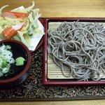 夫婦食堂 - 料理写真:野菜天ざる