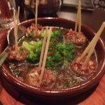 2554831 - マッシュルームの肉詰めアヒージョ
