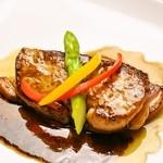 合鴨とフォアグラのステーキ
