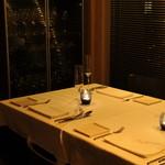 ピアッティ カステリーナ - 窓際のテーブル