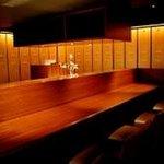 串亭 - ◇恵比寿の和食隠れ家◇デートや接待に大人気。大人気のカウンター。
