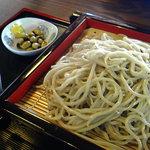 利根川蕎麦店 - もりそば
