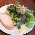 2556441 - パスタランチのサラダ。
