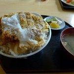 つくし亭 - 料理写真:カツ丼大盛り