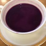 サルーテ - 紫イモのスープ