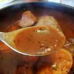 クッテミレール - アンデススープはトロミが有ります