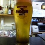 和食感 香ろん - 【H26.3.26】生ビールに切り替えます。