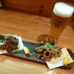 和食感 香ろん - 【H26.3.26】揚げ物には生ビール。