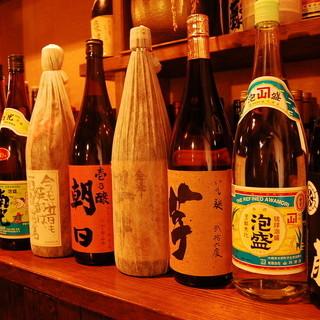 お料理と相性バツグンの厳選レア焼酎☆