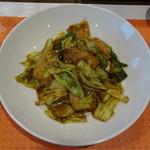 Chuugokuryouriiaru - 豚肉とキャベツのみそ炒め