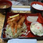 ソルト館 - エビフライ定食