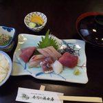 寿司の海女屋 - ランチのお刺身定食
