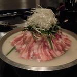 レストラン満奈多 - 松阪ポークの塩プルコギ