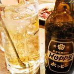 平安郷 - 最近ホッピー飲んでます^^セット450円