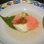 割烹 福久 - 桜蒸し