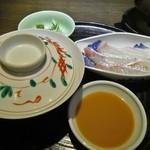 割烹 福久 - 鯛茶漬け