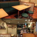 マサラキッチン - テーブル席やカウンター席があります
