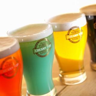 ビールからノンアルコールまで…ドリンクの数も豊富♪