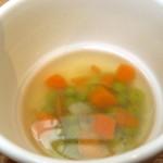 カフェ ポポロ - スープ。