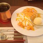 ワンドリップ - マンゴーのパンケーキ