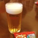 アサヒビール園 - ビール工場見学してます。( ^ ^ )/□