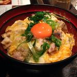 青山 鶏味座 - 20140327 山椒親子丼