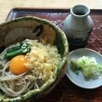 ほづみ 松琴亭 - たぬきそば650円