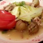 25577703 - 希少!豚あご肉と春野菜のポトフ(2014.03)