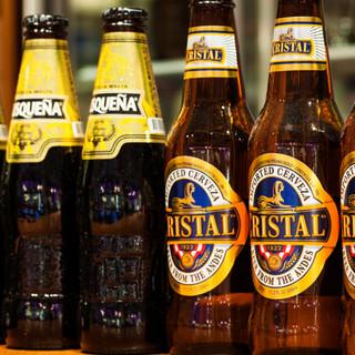 ペルー産ビールもok!!