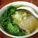 中華鄂菜 楚天 - 野菜ラーメン(300円)